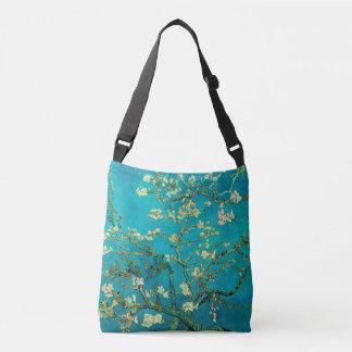 Vincent Van Gogh Blossoming Almond Tree Floral Art Crossbody Bag