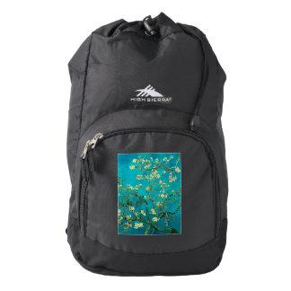 Vincent Van Gogh Blossoming Almond Tree Floral Art High Sierra Backpack