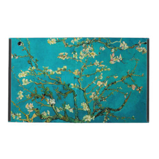 Vincent Van Gogh Blossoming Almond Tree Floral Art iPad Folio Case