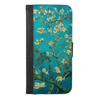 Vincent Van Gogh Blossoming Almond Tree Floral Art iPhone 6/6s Plus Wallet Case