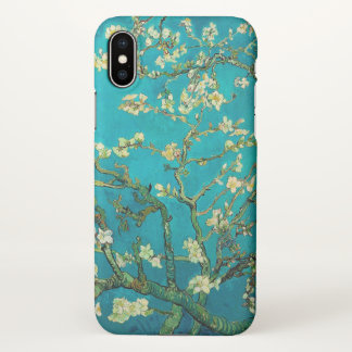 Vincent Van Gogh Blossoming Almond Tree Floral Art iPhone X Case
