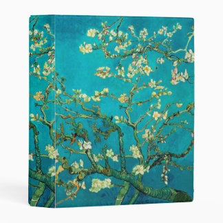Vincent Van Gogh Blossoming Almond Tree Floral Art Mini Binder