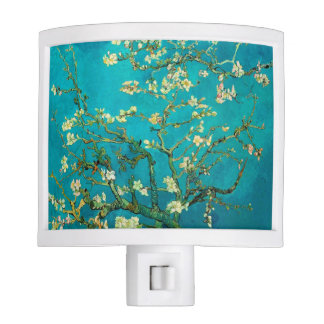 Vincent Van Gogh Blossoming Almond Tree Floral Art Night Light