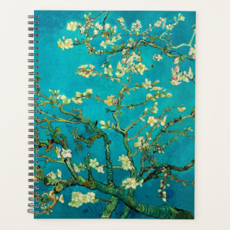 Vincent Van Gogh Blossoming Almond Tree Floral Art Planner