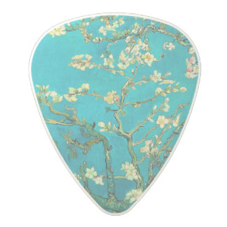 Vincent Van Gogh Blossoming Almond Tree Floral Art Polycarbonate Guitar Pick