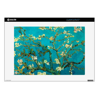 "Vincent Van Gogh Blossoming Almond Tree Floral Art Skins For 15"" Laptops"