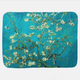 Vincent Van Gogh Blossoming Almond Tree Floral Art Stroller Blanket