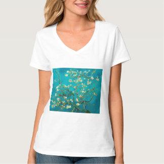 Vincent Van Gogh Blossoming Almond Tree Floral Art T-shirt