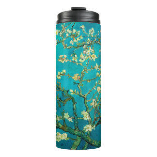 Vincent Van Gogh Blossoming Almond Tree Floral Art Thermal Tumbler