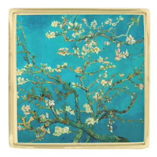 Vincent Van Gogh Blossoming Almond Tree Floral Art Pin