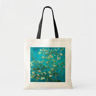 Vincent Van Gogh Blossoming Almond Tree Floral Art Tote Bag