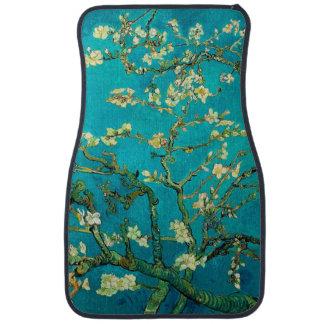 Vincent Van Gogh Blossoming Almond Tree Floral Art Floor Mat