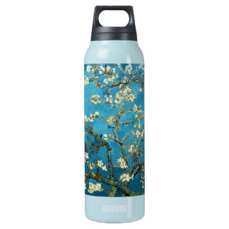 Vincent van Gogh, Blossoming Almond Tree Insulated Water Bottle