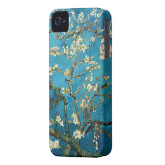Vincent van Gogh, Blossoming Almond Tree iPhone 4 Cover