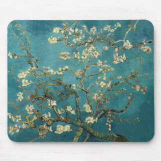 Vincent Van Gogh -  Blossoming Almond Tree Mouse Pads