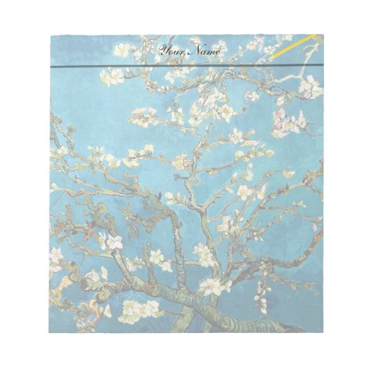 Vincent van Gogh, Blossoming Almond Tree Notepad