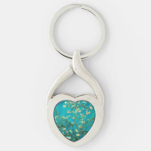 Vincent Van Gogh Blossoming Almond Tree Key Chains