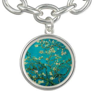 Vincent Van Gogh Blossoming Almond Tree Charm Bracelet