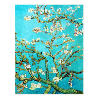 Vincent van Gogh Blossoming Almond Tree Post Cards