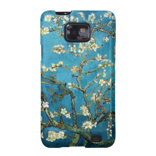 Vincent van Gogh, Blossoming Almond Tree Samsung Galaxy SII Cover