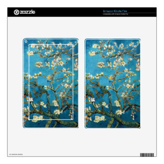 Vincent van Gogh, Blossoming Almond Tree Kindle Fire Skin