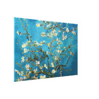 Vincent van Gogh, Blossoming Almond Tree. Vintage Gallery Wrap Canvas