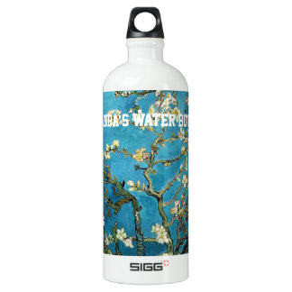 Vincent van Gogh, Blossoming Almond Tree Water Bottle