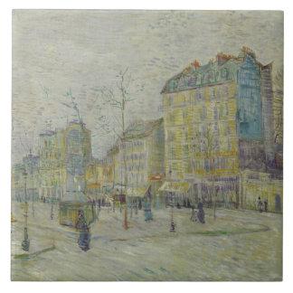 Vincent van Gogh - Boulevard de Clichy Tile