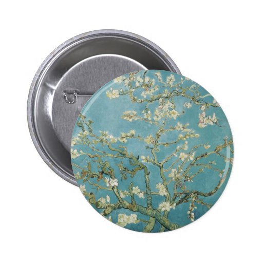 Vincent Van Gogh Branches of Almond Tree Pin
