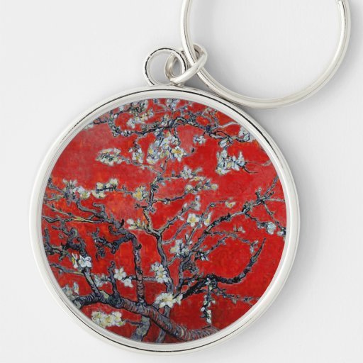 Vincent van Gogh Branches with Almond Blossom Keychains