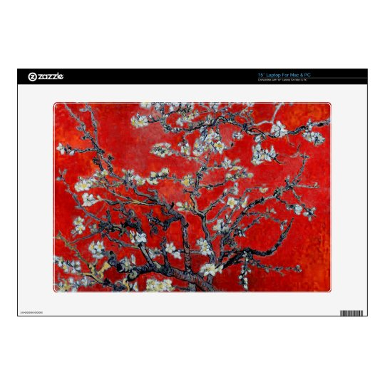 Vincent van Gogh Branches with Almond Blossom Laptop Decal