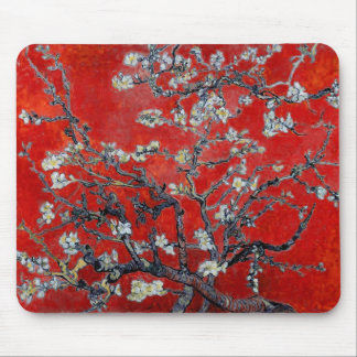 Vincent van Gogh Branches with Almond Blossom Mouse Pad