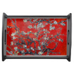 Vincent van Gogh Branches with Almond Blossom Service Trays