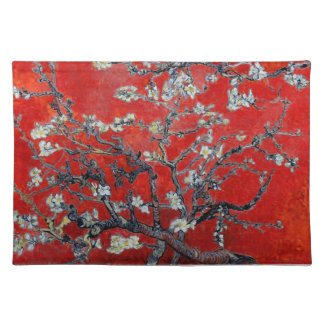 Vincent van Gogh Branches with Almond Blossom Placemat