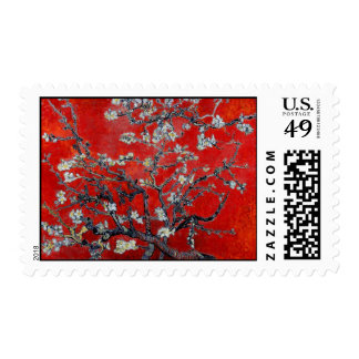 Vincent van Gogh Branches with Almond Blossom Postage