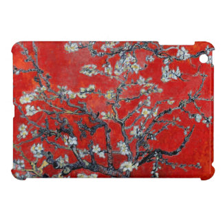 Vincent van Gogh Branches with Almond Blossom Red iPad Mini Case
