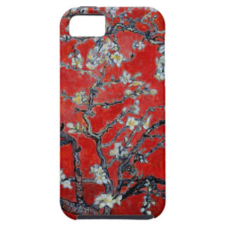 Vincent van Gogh Branches with Almond Blossom Red iPhone SE/5/5s Case