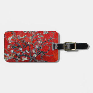 Vincent van Gogh Branches with Almond Blossom Tag For Luggage
