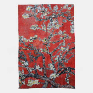 Vincent van Gogh Branches with Almond Blossom Towel