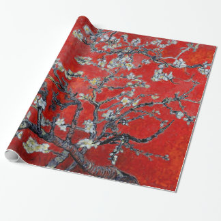 Vincent van Gogh Branches with Almond Blossom Wrapping Paper