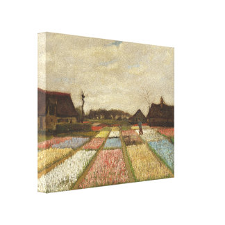 Vincent Van Gogh Bulb Fields Floral Vintage Art Canvas Print