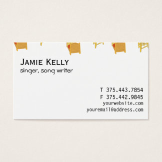 Vincent Van Gogh Business Card
