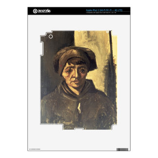 Vincent van Gogh | Bust of a Peasant, 1884 Decals For iPad 3