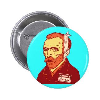 Vincent Van Gogh Buttons