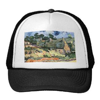 Vincent van Gogh - cabañas cubiertas con paja en C Gorro