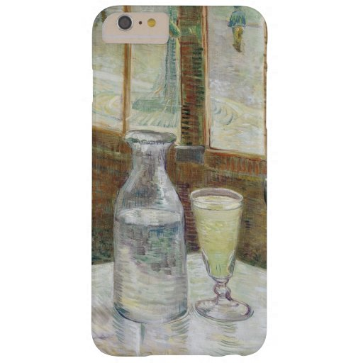 Vincent Van Gogh Cafe Table with Absinthe Barely There iPhone 6 Plus Case