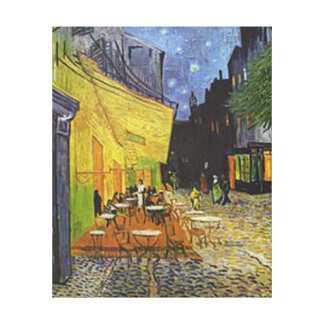 Vincent Van Gogh - Café Terrace at Night Canvas Print