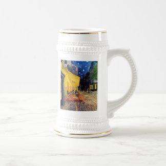Vincent Van Gogh - Cafe Terrace At Night Fine Art Beer Stein