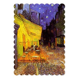 Vincent Van Gogh Cafe Terrace At Night Fine Art Card