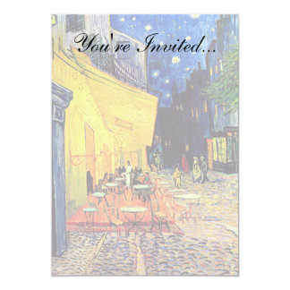 Vincent Van Gogh - Cafe Terrace At Night Fine Art Card